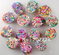 Nail Art 3D Decoration Nail Art Rhinestones 1000pcs 1000pcs, mix style , 1000pcs Nail Art Canes Nail Stickers Polymer Clay Fruit Free Shipping NAS01