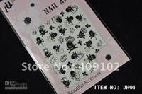 Wholesale Hot sales nail art sticker JH series styles fashion korean and japanese designes on