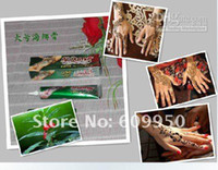 Wholesale hma007 arab henna body tattoo kits which can be used for hair dye dye nails and