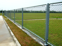 Wholesale Chain Link Fence High quality low carbon steel galvanized wire