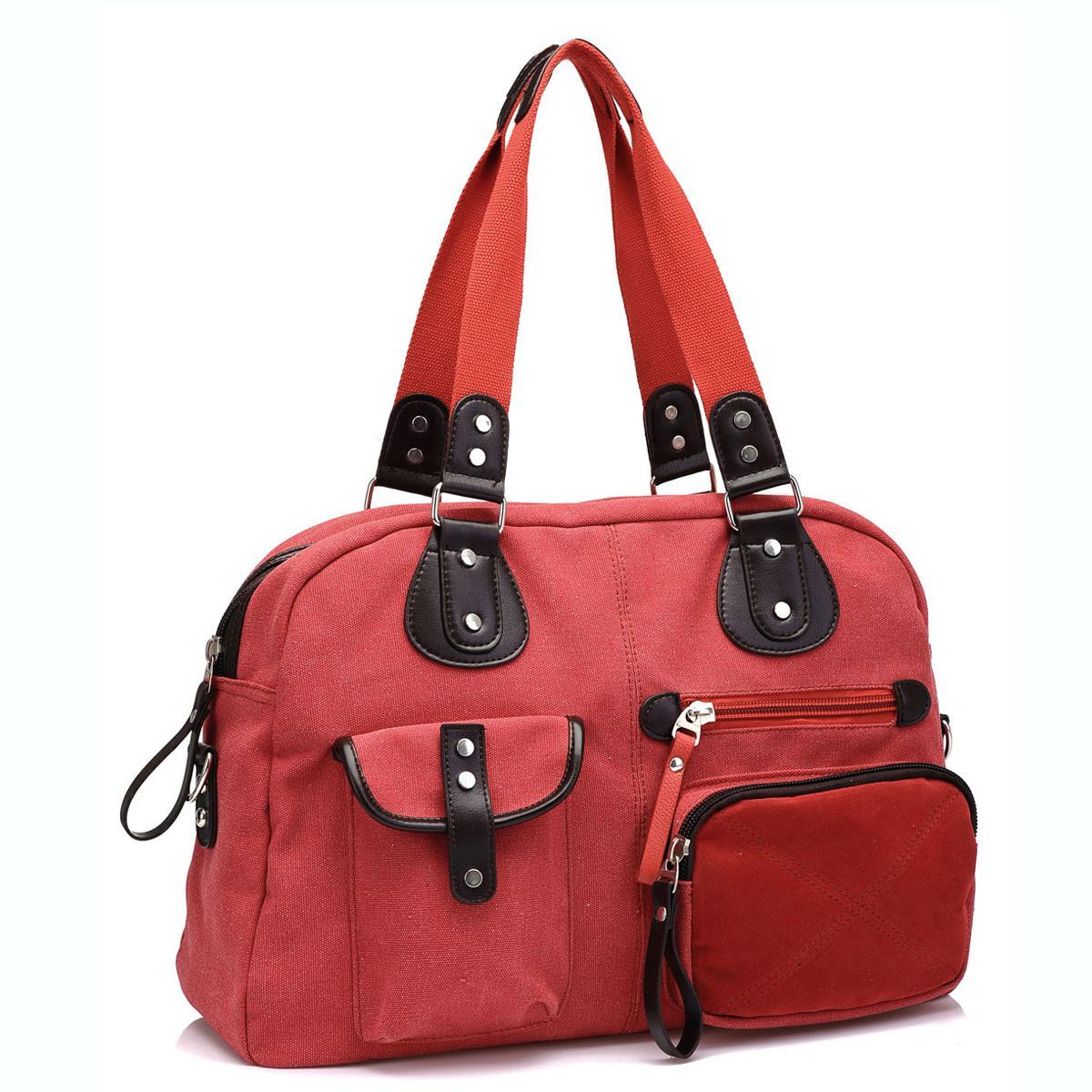 Bag large capacity travel bag canvas bag women s handbag big bags