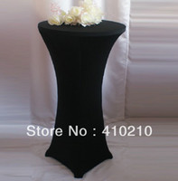 Wholesale Spandex table cover bistro table cover Cocktail table cover any color