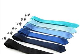 Handmade Solid Color Rayon Men's Skinny Ties Solid Skinny Neck Party wedding Tie Silk Necktie
