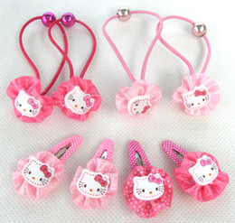 Wholesale New Packet Pairs Cute Girl headband headbands hair clips hair pins hair clip