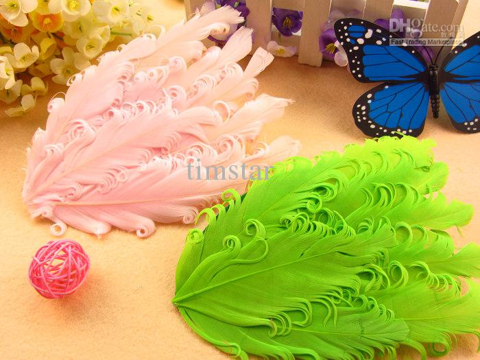 DIY Feather Flower Hair Accessories Baby Girls Headwear Without Hair