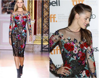 Wholesale kristen stewart and zuhair murad fall couture floral dress gallery Celebrity Evening Dresses Z