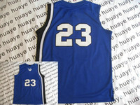 Wholesale Blue College American Football Jerseys Memphis Authentic Sportswear Basketball Jersey Hot Sell