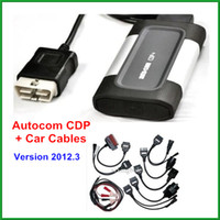 Wholesale 2013 new arrival autocom cdp with car cables for cars trucks generic in OBD06