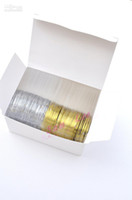 Wholesale 50pcs Gold Color Silver Color Striping Tape Metallic Yarn Line Nail Art Decoration Sticker