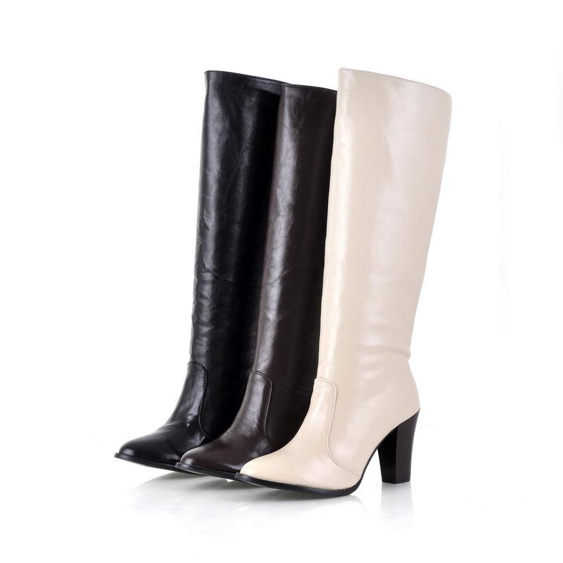 2013 Popular women s boots Large size High-heeled Knight boots