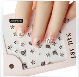 Wholesale 2013 New Fashion women s lady s Nail Art amp Salon Nail Art Sticker