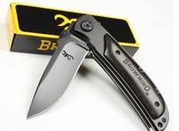 Wholesale Browning gift hunting Folding pocket Survival camping hiking Knife knives new