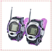 Wholesale Pieces New TWO WAY RADIO WALKIE TALKIE WRIST WATCH Child TOY GADGETS