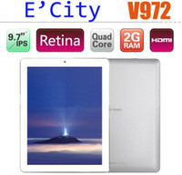 Wholesale Onda V972 inch QUAD CORE ANDROID GB GB DDR3 CORTEX A7 WIFI DUAL CAMERA RETINA TABLET PC