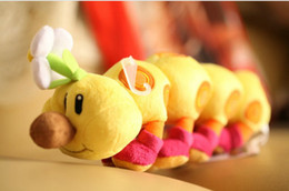 Wholesale Super Mario Mario Plush doll Pokey Caterpillars wiggler quot