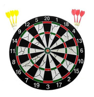 Wholesale CLASSIC Bristle Dart Board Kit With Brass Darts quot
