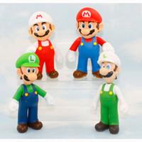 Wholesale set cm Super Mario Bros Luigi Mario Action Figures Toys Doll