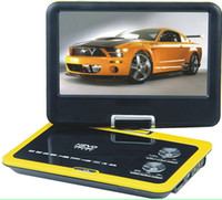 Wholesale 7 inches color John TFT LCD DVD player with TV Player USB reader can be rotation