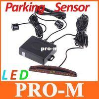 Wholesale LED Display Car Parking sensor system Car Parking Reverse Backup Radar System sensors Freeshipping