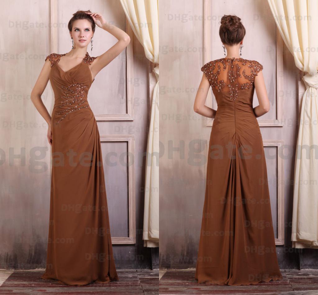 Brown Evening Dresses