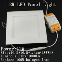 Wholesale 12W Led Ceiling Panel Lighting Lamp High Power Warm White Led Down Light V