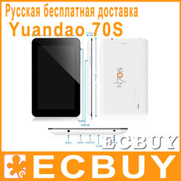 Wholesale Yuandao N70S Dual Core Inch Android Capacitive Screen Tablet PC GB GB Russian