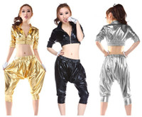 Wholesale Jazz dance clothes ds stage costumes HIP HOP harem style fashion suit sexy nightclub clothing