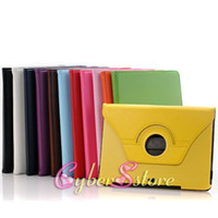 Wholesale 100pcs HQ Degree Rotate Leather Case Cover With Stand For Samsung Galaxy Note N8000 Tablet
