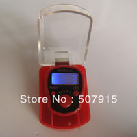 Wholesale New arrvial muslim electronic LED light ring hand tally counter