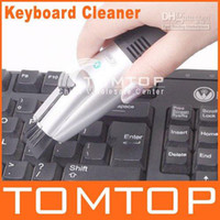 Vacuum Cleaner Keyboard  10pcs USB Vacuum Keyboard Cleaner Dust Collector For PC Laptop, Free Shipping C828
