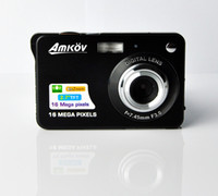 Wholesale 16 MP digital camera preview screen Rechargable Lithium battery AC Charger Slim camera cheap from advancedplus