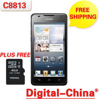 Wholesale 2013New Huawei C8813 CDMA2000 CDMA MSM8625 Android Dual Core Inch MP Smart Phone