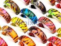 Wholesale Best Xmas Gift Bulk Mixed Resin Lucite Rings Finger Rings Jewellery Resin Rings LR20