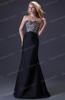 Trumpet/Mermaid leopard print prom dress - Grace Karin New Arrive Fashion pc Retail Women Sexy Slit Ball Prom Dresses Black Leopard Mermaid Evening Gown Party Dress CL3423