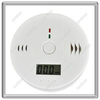 Wholesale alarm LCD CO Carbon Monoxide Detector Poisoning Gas Fire Warning Alarm Sensor New AAABAP00WT
