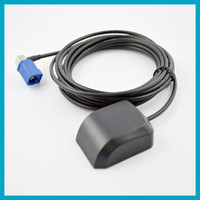 Wholesale Car Antenna Meter RG174 Cable Fakra C Right Angle Low Noise Figur GPS Aerial for MFD2 RNS2 RNS E