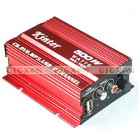 Wholesale 2CH WATT CAR MOTORCYCLE AMPLIFIER MP3 AMP AMPS