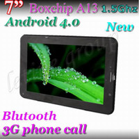 Wholesale 1 inch built in G calling WCDMA tablet pc Allwinner A13 android