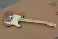 Wholesale 38 wooden natural s polishing electric guitar