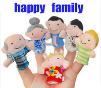 Wholesale Family Finger Puppet Finger toy finger doll baby dolls Baby Toys
