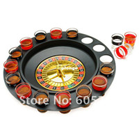 Wholesale Roulette Drinking Game Spin N Shot Wheel Game With shot glasses