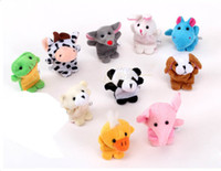 Stuffed baby finger puppets - Animal Finger Puppet Professional baby kids toy