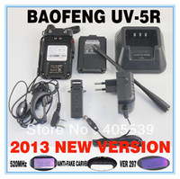 Wholesale UV R dual band dual display dual standby walkie talkie BAOFENG February New launch w chan