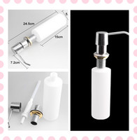 Wholesale Plastic Bottle Kitchen Sink Replacement Liquid Soap Dispenser Sanitizer Lotion