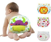 Wholesale Free shiping Baby Training Pant underwear cotton infant urinate pants