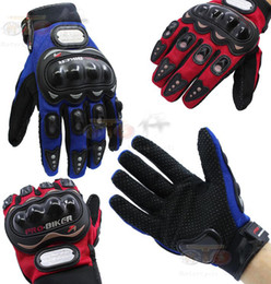 PRO-BIKER full finger knight gloves motorcycle motorbike gloves Moto racing gloves 3 Colors 4 size