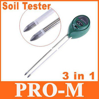Wholesale 3 in Soil Hydroponic Moisture Light PH Tester Meter freeshipping dropshipping