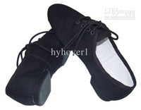 D005353 Cheap Dttrol Leather Stretch Jazz Shoes For Dance Teachers