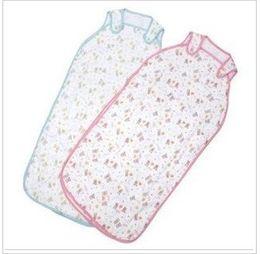 Wholesale New Arrival Newborn Cotton Soft Sleeping Bags Pretty Cartoon Printed Sleeping Bag Pink Blue