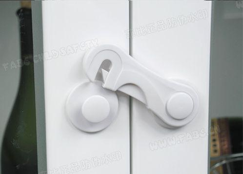 2x Child Safety Adhesive Cupboard Lock Drawer Latch 3M **buy 8 Get 1 Free  Deal** ID:20130410005 Cabinet Locks Straps